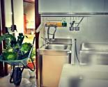 Particolare sala lavaggio